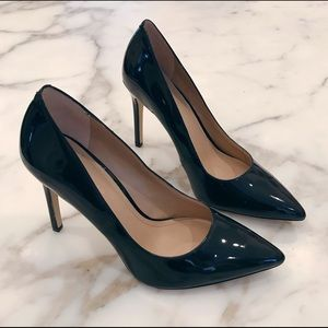 BCBGeneration patent pointed-toe pumps